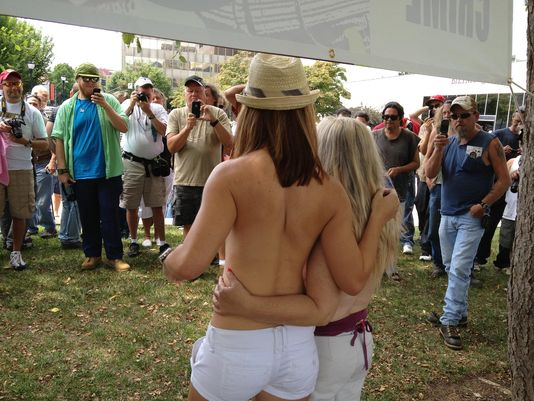 ASHEVILLE TOPLESS RALLY
