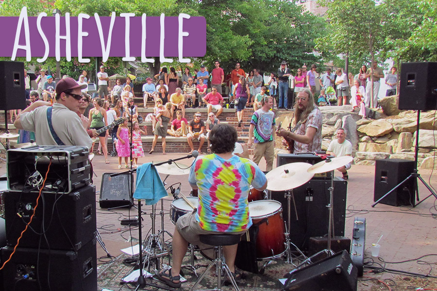 Asheville is country's reigning champ of hippie culture!
